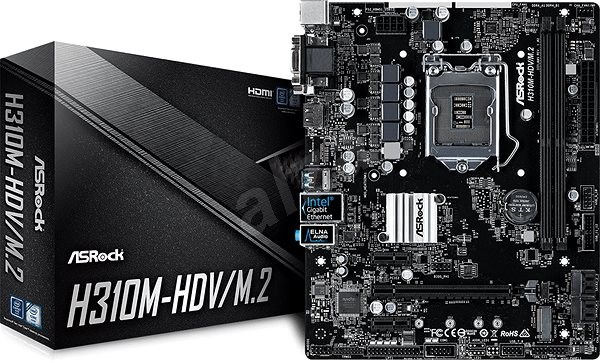 Mainboard Intel H310 (8th Gen) DDR4 M 2 4*SATA3
