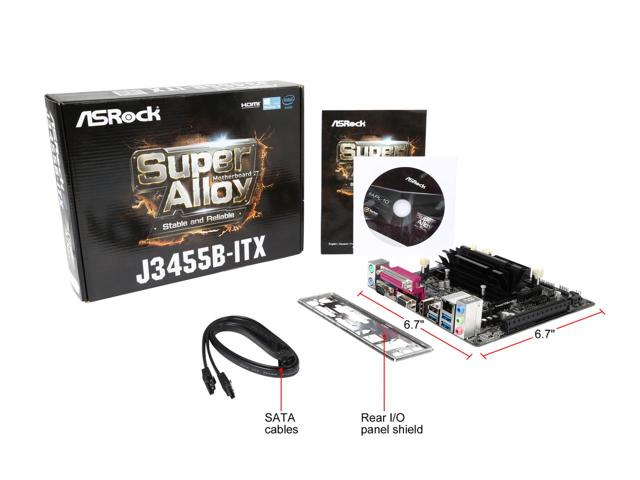 Mainboard OnBoard CPU QuadCore J3455B USB3 SATA3